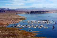 View of Lake Mead Recreational Area Stock Photos
