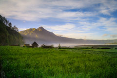 View of a lake and mountain Stock Photography