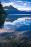 View of a lake and mountain Royalty Free Stock Photo