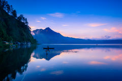 View of a lake and mountain Royalty Free Stock Photography