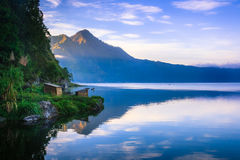 View of a lake and mountain Stock Image