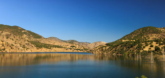 View of the lake and mountains Royalty Free Stock Photography