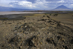 View on lake Natron Royalty Free Stock Photos