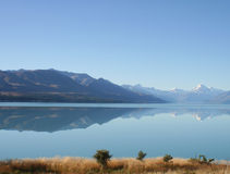 View of the lake, New Zealand Stock Photography