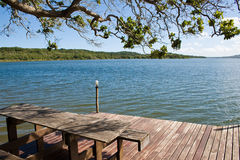 View of Lake Nhambavale in Mozambique Stock Photos