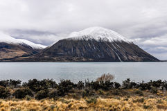 View of Lake Ohau, New Zealand Stock Images