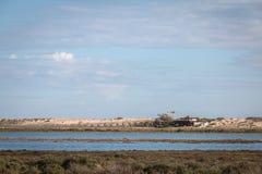 View of the lake of Quinta do Lago in the Algarve, Portugal