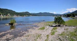 View of the lake Teletskoye Stock Photography