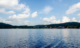 View of lake Titisee Royalty Free Stock Photos