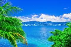 View of Lake Toba in Sumatra, Indonesia Royalty Free Stock Images