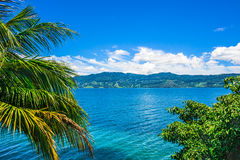 View of Lake Toba in Sumatra, Indonesia Stock Images