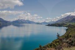 Queenstown Lake Wakatipu royalty free stock image