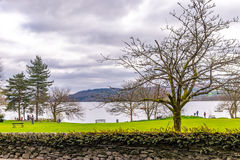 View of lake windermere from ambleside The Lake District, Cumbria, England. View of lake windermere from ambleside The Lake District, Cumbria Royalty Free Stock Photo