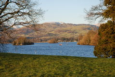 View of Lake Windermere Stock Photos