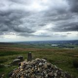 View of Lancashire. North England United Kingdom Royalty Free Stock Photo