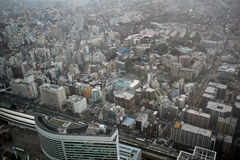 View from Landmark Tower, Yokohama, Japan Royalty Free Stock Photo