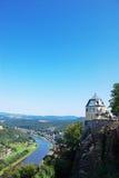 View landscapae elbsandsteingebirge Stock Image
