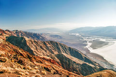 View on landscape of the Death Valley Royalty Free Stock Photography