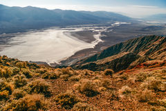 View on landscape of the Death Valley Royalty Free Stock Images