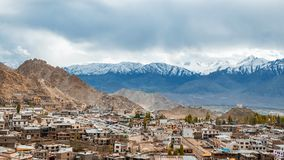 View of landscape in Leh Ladakh District ,Norther part of India