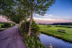 View of a landscape near Utrecht Royalty Free Stock Image