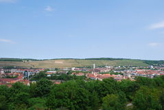 View landscape würburg Royalty Free Stock Photography