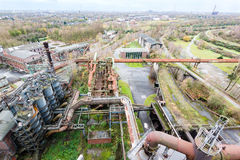 View from landschaftspark duisburg Royalty Free Stock Photo