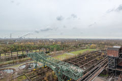 View from landschaftspark duisburg Stock Images