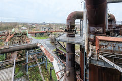 View from landschaftspark duisburg Royalty Free Stock Image