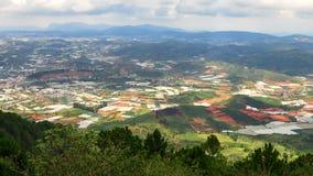 Lang Biang mountains or roof of dalat city Stock Images