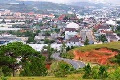 Lang Biang mountains or roof of dalat city Royalty Free Stock Photos
