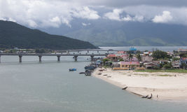 View of Lang Co town in Hue, Vietnam Royalty Free Stock Photo
