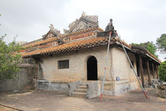 View of Lang khai dinh tomb in Hue, Vietnam Royalty Free Stock Photography