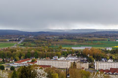 View from Laon, France Royalty Free Stock Photos