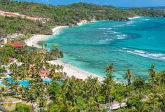 View of the Lapus-lapus beach Boracay island, Philippines Royalty Free Stock Image