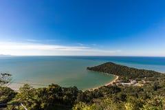View of Laranjeiras Beach, Balneario Camboriu. Santa Catarina Royalty Free Stock Photos