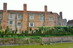 View of large english house Royalty Free Stock Photos