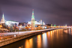 The view from the Large Stone (Bolshoy Kamenniy) Bridge. Stock Photography