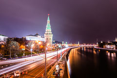 The view from the Large Stone (Bolshoy Kamenniy) Bridge. Royalty Free Stock Photo