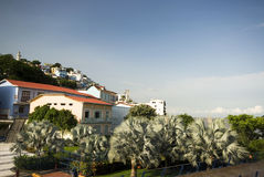 View of las penas guayaquil ecuador royalty free stock photos