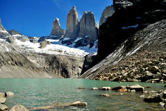 View of Las Torres Royalty Free Stock Photography