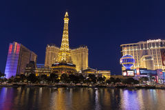 A View of Las Vegas Boulevard in Las Vegas, NV on May 20, 2013 Stock Images