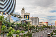 View from Las Vegas Boulevard Stock Photography