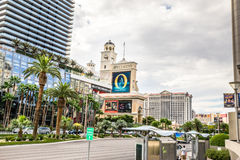 View from Las Vegas Boulevard Stock Image