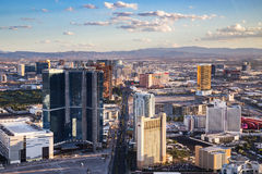View of Las Vegas from Stratosphere Tower Stock Image