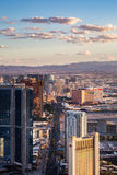 View of Las Vegas from Stratosphere Tower Stock Photography