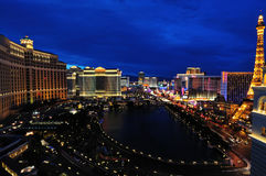 View of Las Vegas The Strip Royalty Free Stock Photography