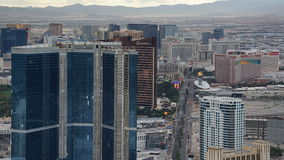 View of Las Vegas Strip from Stratosphere Stock Photo