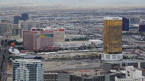View of Las Vegas Strip from Stratosphere Stock Photography