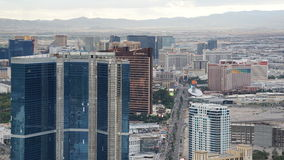 View of Las Vegas Strip from Stratosphere Royalty Free Stock Photos
